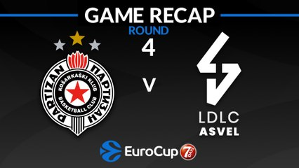 7Days EuroCup Highlights Regular Season, Round 4: Partizan 78-89 ASVEL