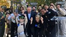 Five-Year-Old London Green Becomes Honorary Ghostbuster for a Day | THR News