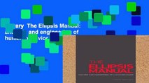 Library  The Ellipsis Manual: analysis and engineering of human behavior