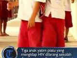 Tiga anak yatim piatu yang terserang Human Immunodefiency Virus (HIV) dilarang sekolah bahkan terancam diusir dari Kabupaten Samosir, Sumatra Utara.#HIV #samo
