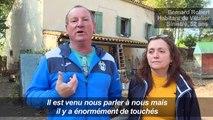 Inondations: Macron annonce des mesures pour les sinistrés