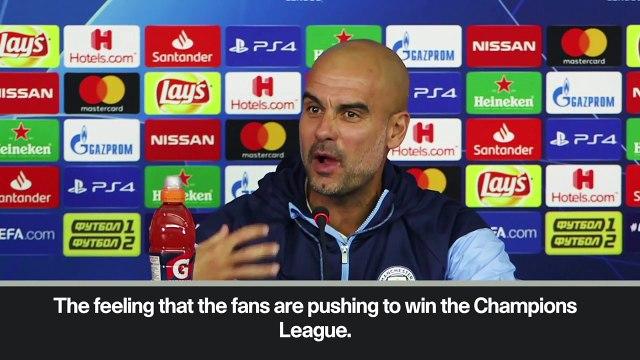 Eng Sub: Soccer Manchester City Guardiola