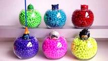Pj Masks Toys  Wrong Heads , Learn Colors Pj Masks Beads Balls Disney Cars Surprise Toys