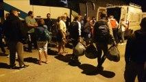 Solidarité des mézois avec Conques sur Orbiel : De la collecte aux balais