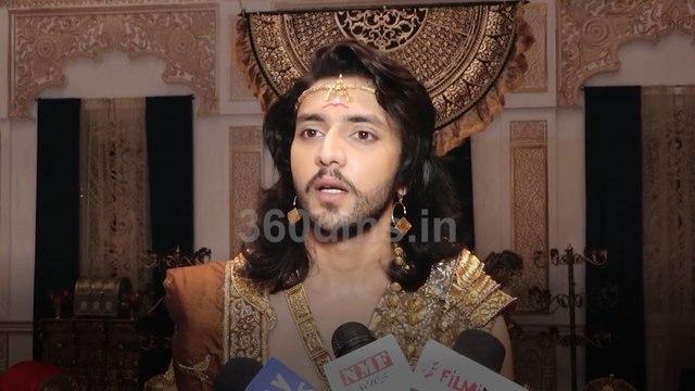 KARN SANGINI | Kinshuk Vaidya REVEALS His Character Arjun's Fictional Love Story | कर्ण संगिनी