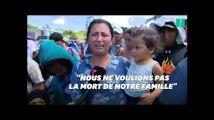 Au coeur de la caravane des migrants honduriens, cette femme raconte les difficultés de la route