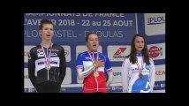 """Jade Wiel, championne de France de contre-la-montre : """"J'ai savouré la Marseillaise"""""""