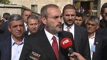 """AK Parti Genel Başkan Yardımcısı Mahir Ünal: """"Devlet Bahçeli'nin de Altını Çizdiği Bir Şey Var. AK..."""
