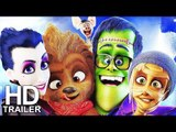 MONSTER FAMILY Official Trailer + 2 Clips from the Movie (2018) Animation, Comedy Movie HD