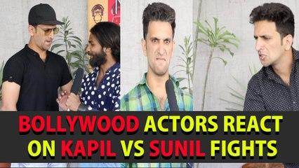 Bollywood Actors Ultimate Fun Reactions On Kapil Vs Sunil Fights || Kiraak Hyderabadiz