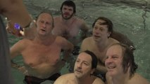"""Dans """"Le Grand bain"""", Poelvoorde, Katerine et Amalric sont synchro sur l'humour!"""