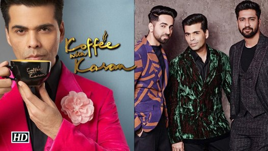 Koffee with Karan 6 | Ayushamann-Vicky's Debut appearance ...