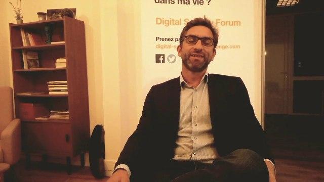 """""""Il y a toujours une ambivalence entre les dangers et les avantages concernant le développement numérique"""" - Martin Arnout, Adjoint au Maire de Saint-Nazaire et Conseiller communautaire"""