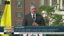 teleSUR Noticias: Trump suspende ayuda a 3 países centroamericanos