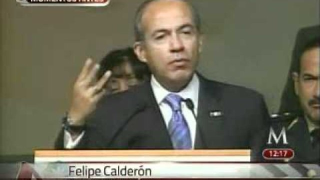Calderón felicita a las Enfermeras en su día