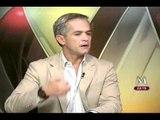 En Entrevista para MILENIO Televisión, Miguel Ángel Mancera