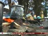 Comuneros de poblado de Michoacán realizan bloqueos en ausencia de los 13 policías municipales