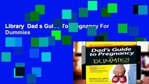 Library  Dad s Guide To Pregnancy For Dummies