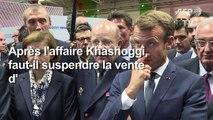 Suspendre les ventes d'armes à Ryad ? Macron refuse de répondre