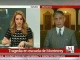 Tiroteo en escuela de Monterrey: Aldo Fasci en entrevista con Azucena Uresti