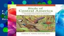 F.R.E.E [D.O.W.N.L.O.A.D] Birds of Central America: Belize, Guatemala, Honduras, El Salvador,