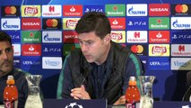 Tottenham prepare to face PSV Eindhoven in the UEFA Champions League