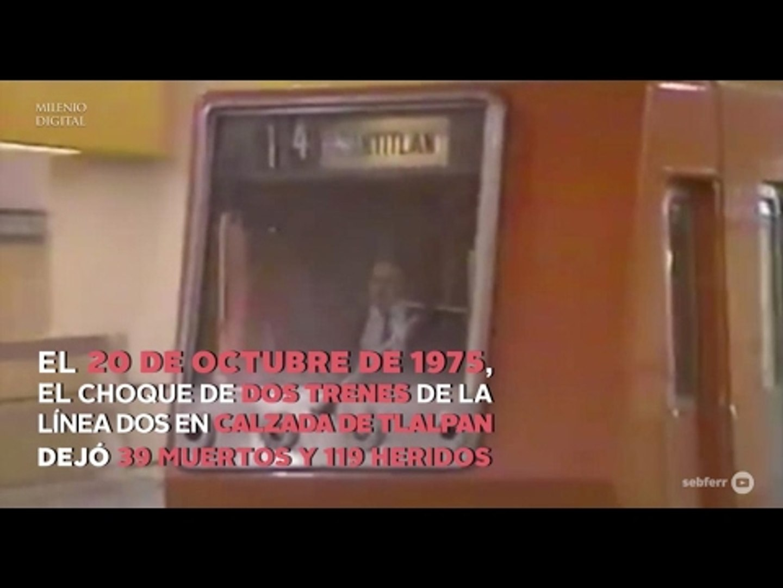 En 48 años, dos accidentes graves en el Metro
