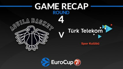 7Days EuroCup Highlights Regular Season, Round 4: Trento 77-81 Turk Telekom