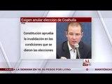PAN pide anular elección de Coahuila por rebase de gastos