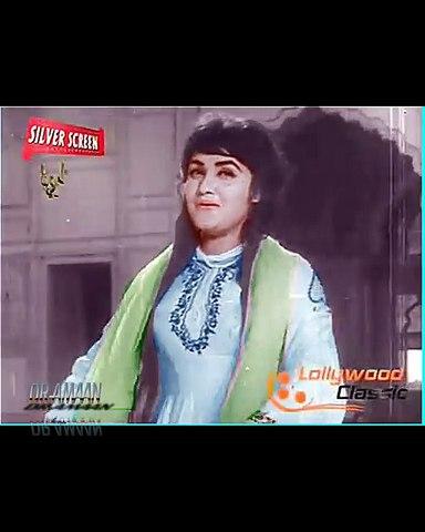 Clip in Color - Sada Hoon Apnay Pyar Ki - Noor Jehan - Film Anarkali