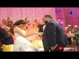 فرح نجل المخرج محمد النقلى | صورة جماعية مضحكة مع العروسين و أحمد رزق و أيمان العاصى !