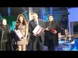 حفل النايل دراما |  شاهد لحظة تسلم دنيا سمير غانم و سمير غانم جائزة عن مسلسل لهفة