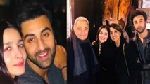 Alia Bhatt meets Ranbir Kapoor, Rishi Kapoor & Neetu Kapoor in New York; Check Out | FilmiBeat