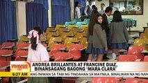 UKG: Andrea Brillantes at Francine Diaz binansagang bagong 'Mara Clara'