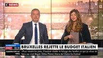 Un eurodéputé italien écrase avec sa chaussure les notes de Pierre Moscovici après le rejet du budget italien - VIDEO