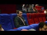 مؤتمر نيللى وشريهان |  شوف زوج دنيا سمير غانم يجلس في أخر صف خالص!!