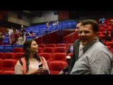 مؤتمر نيللى وشريهان |  شاهد أحد الحضور بيعاكس زوج الفنانة دنيا سمير غانم