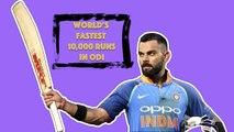 Virat Kohli becomes fastest cricketer to score 10k ODI runs