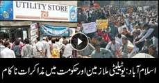 Negotiations fail between utility stores employees and govt