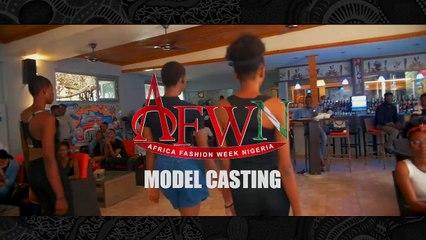 AFWN 2018 Model Casting
