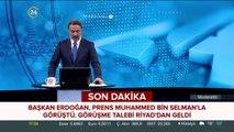 Prens Muhammed, Erdoğan'ı aradı