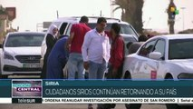 Unión Europea obstaculiza regreso de refugiados sirios a su país