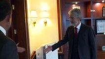 Birleşmiş Milletler Mülteciler Yüksek Komiserliği Türkiye Temsilcisi Katharina Lumpp'dan Başkan Tuna'ya ziyaret