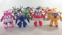 12 Super Wings Transforming Robots Jett Jerome Donnie Dizzy Paul Mira Albert || Keith's Toy Box