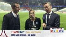 Replay: Avant match Paris Saint-Germain - SSC Napoli avec Pedro Pauleta