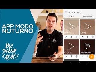 App Modo Noturno para Ciclo Circadiano - Luz, Decor & Ação!