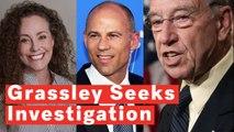 Grassley Refers Kavanaugh Accuser Julie Swetnick and Her Lawyer Michael Avenatti To DOJ