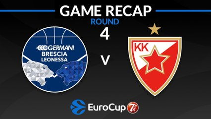 7Days EuroCup Highlights Regular Season, Round 4: Brescia 69-61 Zvezda