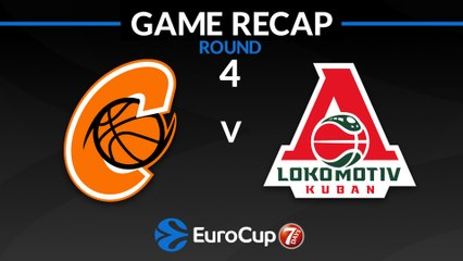 7Days EuroCup Highlights Regular Season, Round 4: Cedevita 81-85 Lokomotiv