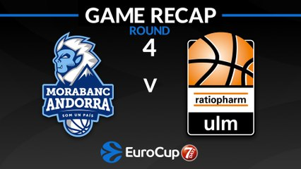 7Days EuroCup Highlights Regular Season, Round 4: Andorra 103-95 Ulm